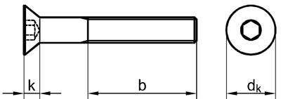 Zeichnung DIN 7991 ISO 10642
